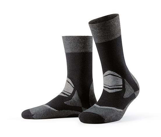 Spor Çorap, Siyah-Kırçıllı Gri