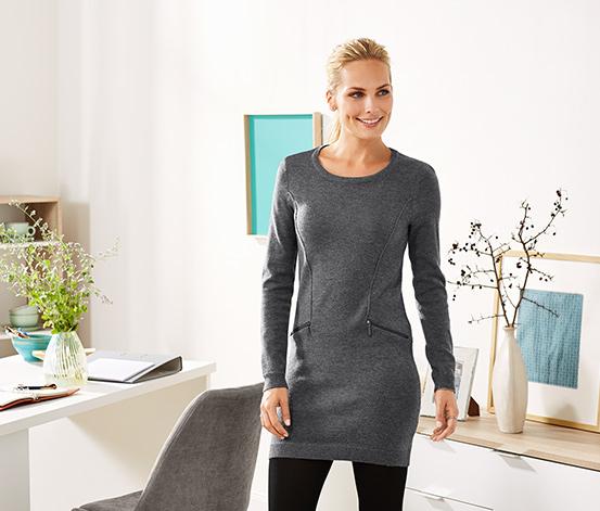Hosszú kötött pulóver
