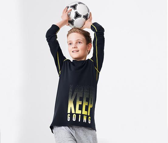 Sport-Langarmshirt