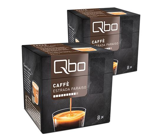 Qbo Caffé Estrada Paraiso – 2x8 Cups