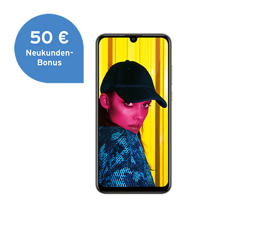 Huawei P smart (2019), midnight black