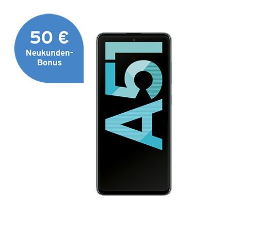 Samsung Galaxy A51, crush blue