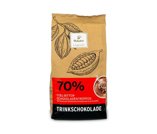 Horúca čokoláda - horká (kakaová sušina min. 70%)