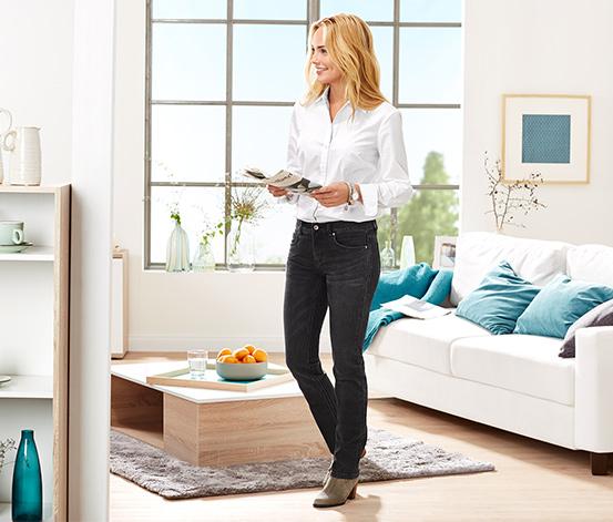 Superstretch-Jeans mit Bio-Baumwolle, black denim