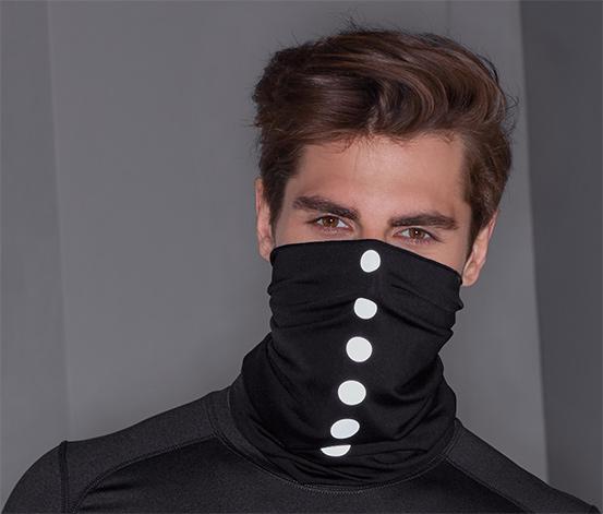 Reflexní multifunkční šátek