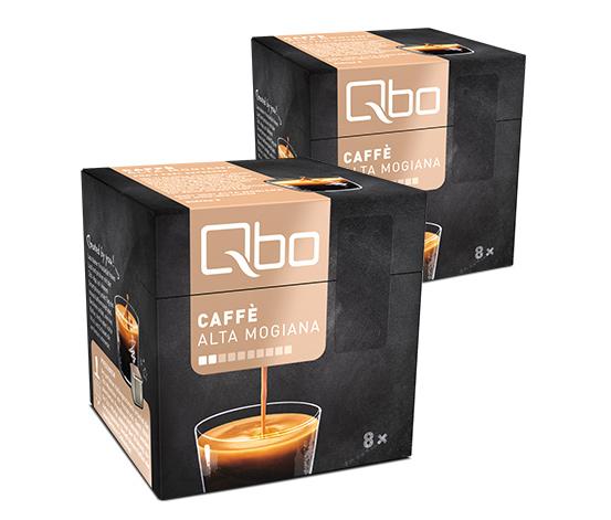 Qbo Caffé Alta Mogiana –  2x8 Cups
