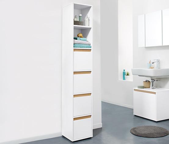 Wysoka szafka łazienkowa