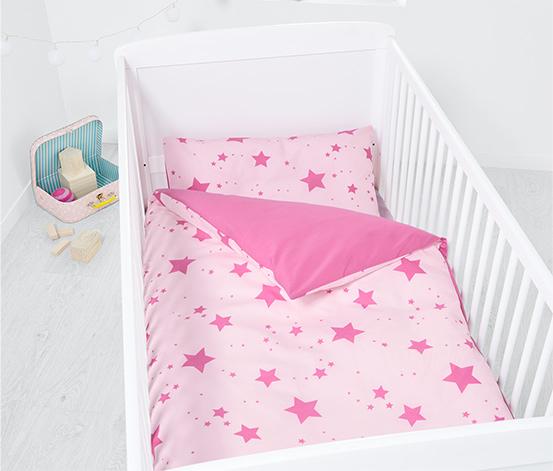 Parure de lit réversible pour bébé