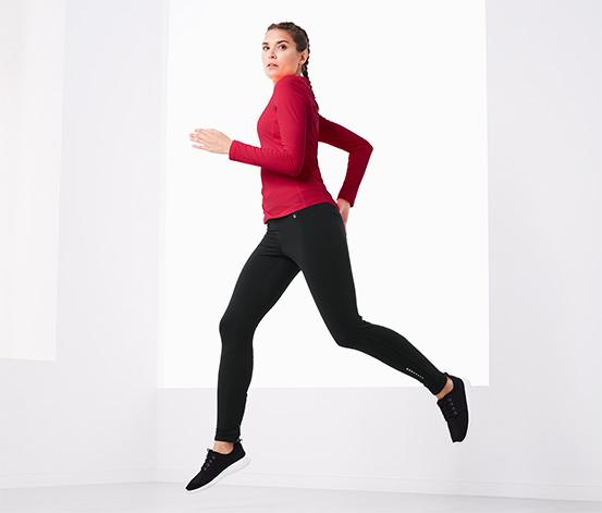 Ciepłochronne spodnie do biegania