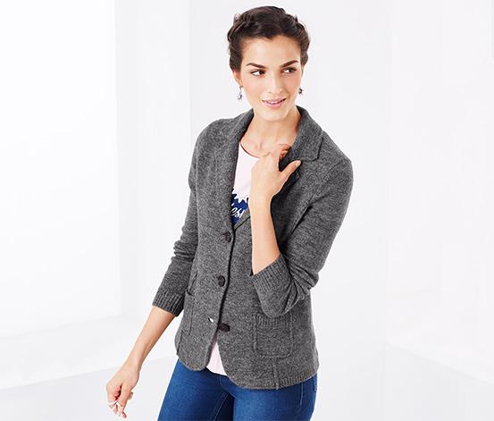 Blazer en tricot