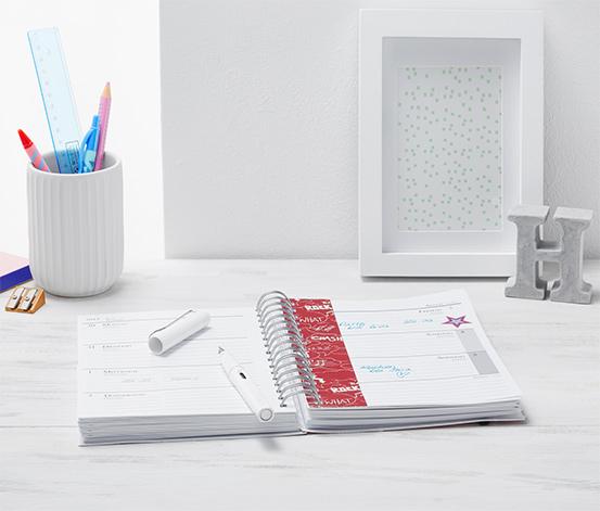 Terminplaner, DIN A5 mit Kalender für 18 Monate
