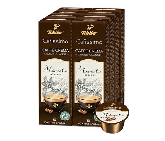 NEU: Grand Classé Caffè Crema Márcala Honduras – 80 Kapseln
