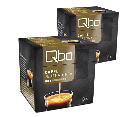 Qbo Caffé Jebena Yirga – 2x8 Cups