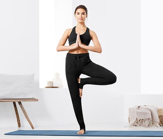 Damskie spodnie do jogi