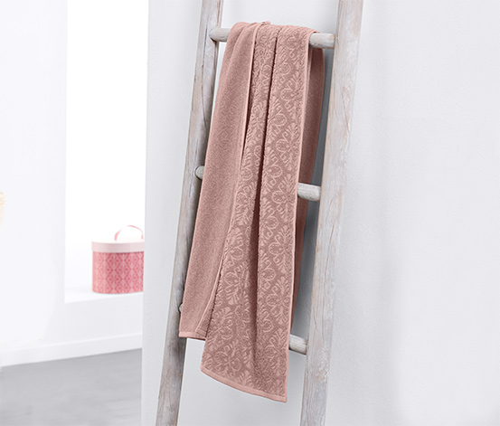 Linge de bain en tissu éponge