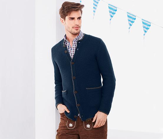 Pletený kabátek ke kroji