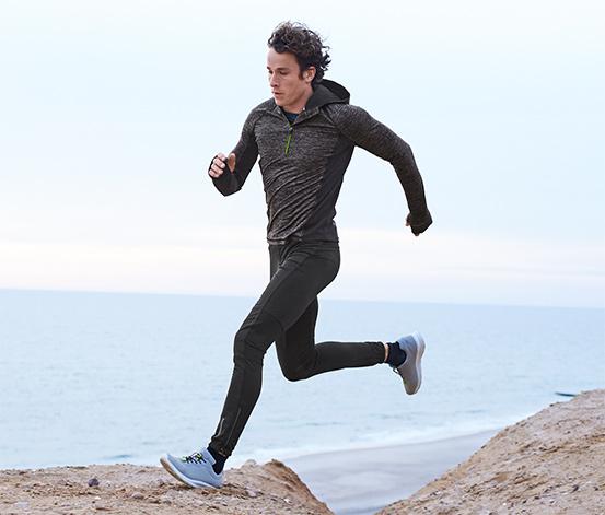 Větruvzdorné běžecké kalhoty