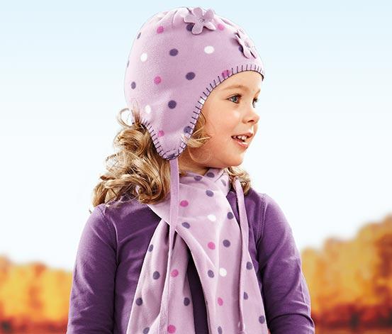 Mütze und Schal, Mädchen