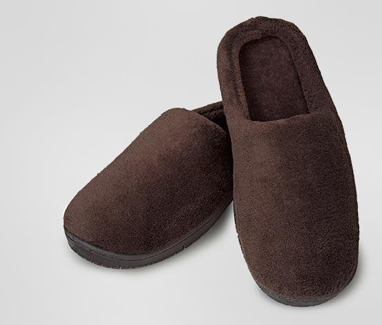Pánské fleecové papuče