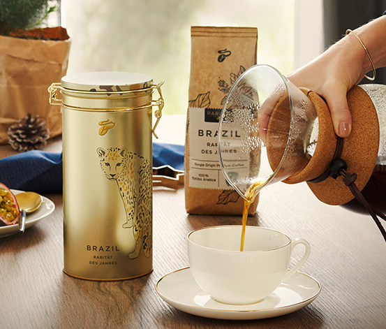 Rarität des Jahres »Segredo Amarelo« (inkl. Kaffeedose)
