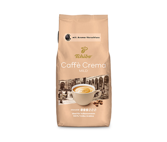 Caffè Crema Mild - 1 kg Ganze Bohne