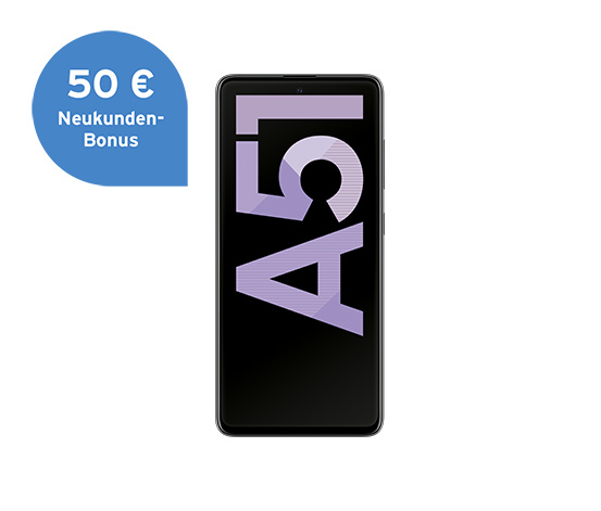 Samsung Galaxy A51, crush black