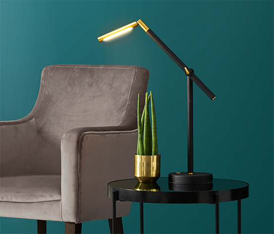 Lampa stołowa slim, LED