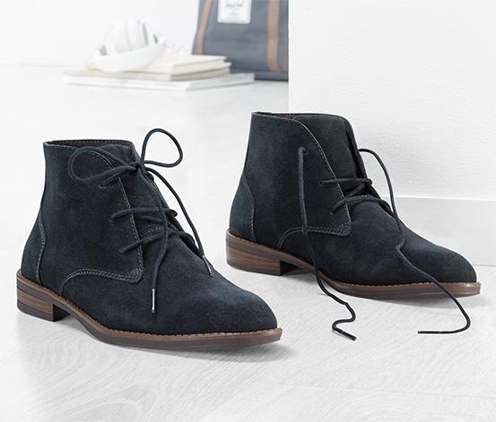 Veloursleder-Desert-Boots