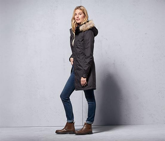 Női termo kabát, antracit