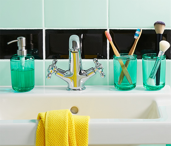 Dozownik do mydła z głowicą pompki ze stali nierdzewnej