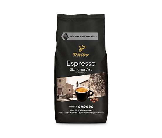 Espresso Sizilianer Art – 1 kg hela bönor