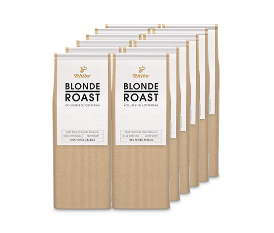 Blonde Roast – 12 x 250g Ganze Bohne