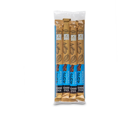Edelvollmilch-Schokoladen-Sticks (Kakao: 45 %)
