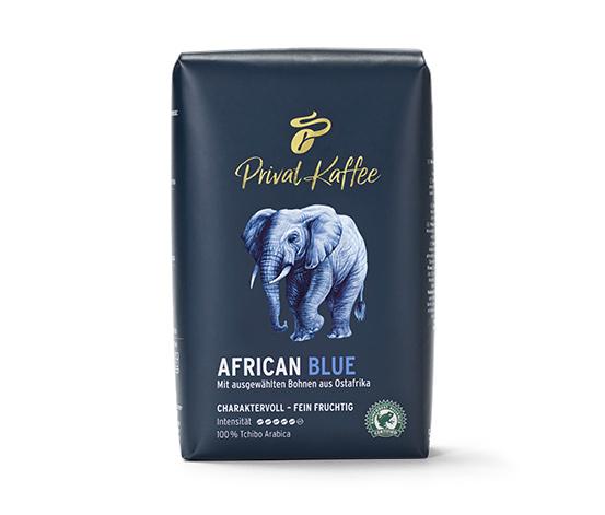 Privat Kaffee African Blue – 500 g hela bönor