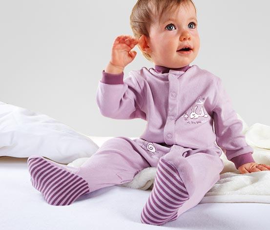 Bebek pijaması, leylak
