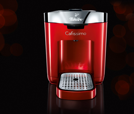 Cafissimo DUO, Hot Red