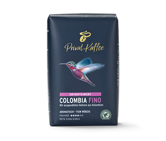 Private Coffee Colombia Fino (kafeinsiz) - 500g çekirdek kahve