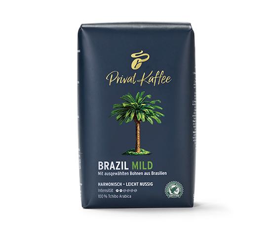 Privat Kaffee Brazil Mild - Ganze Bohne