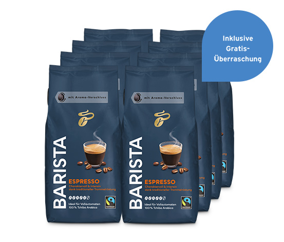 BARISTA Espresso  – 8 x 1 kg Ganze Bohne