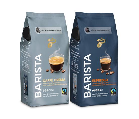 BARISTA Caffè Crema & Espresso im Set