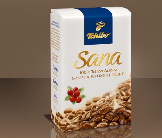 Café Sana en grains