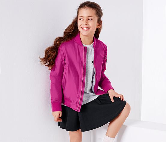 Gyerek blouson dzseki, pink