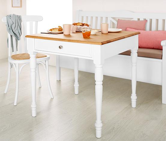 Table à manger avec tiroir