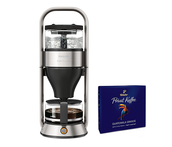 Philips HD5413/00 Filterkaffeemaschine Café Gourmet (inkl. Gratis-Kaffee)