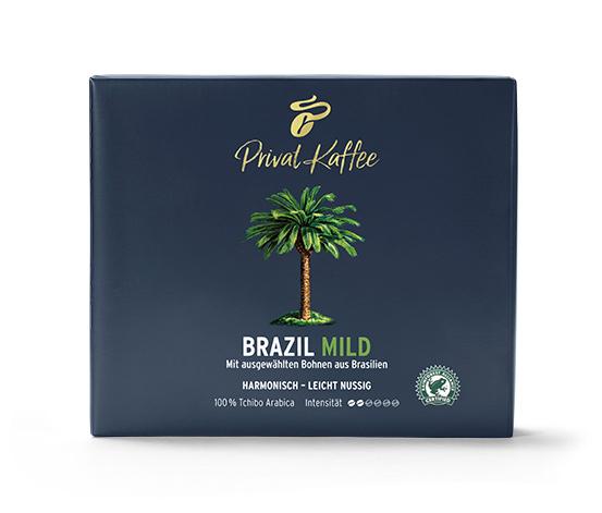 Privat Kaffee Brazil Mild - 500 g Gemahlen