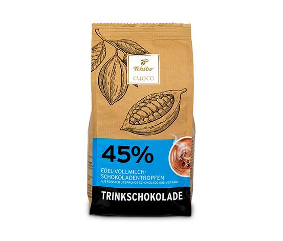 Edelvollmilch-Trinkschokolade (Kakao: 45 %)