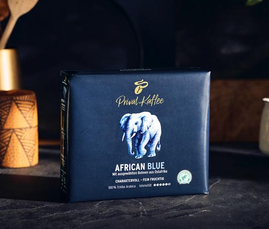 Privat Kaffee African Blue – Gemahlen