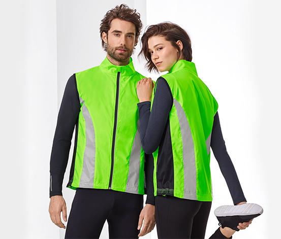 Koşu Yeleği, Neon Yeşil