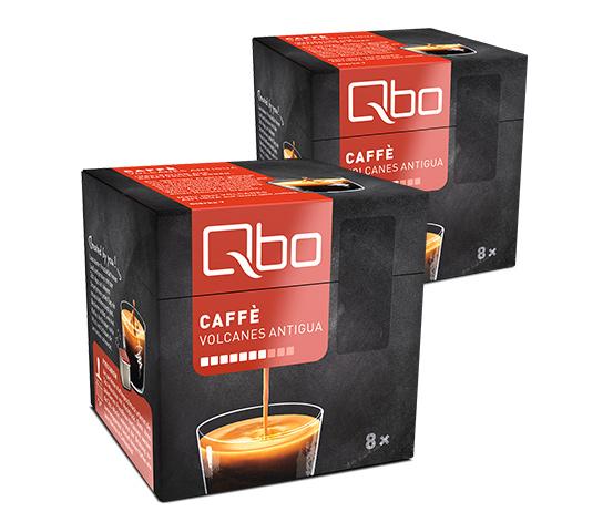 Qbo Caffé Volcanes Antigua – 2x8 Cups