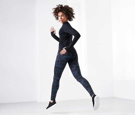 Női sportnadrág, mintás